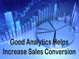Increasing your sales conversion takes time unfortunately but can result in great rewards