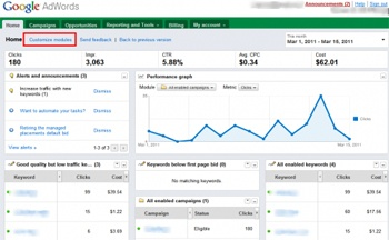 The Google Adwords interface can be a bit overwhelming - seek professional help!